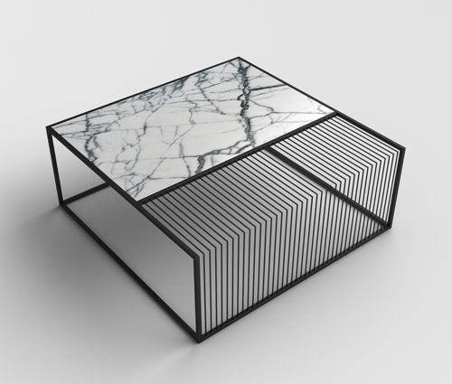 94419624826 – thedesignwalker marble metal coffee table